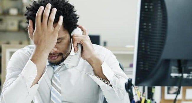 Ontevredenheid bij klantenservices