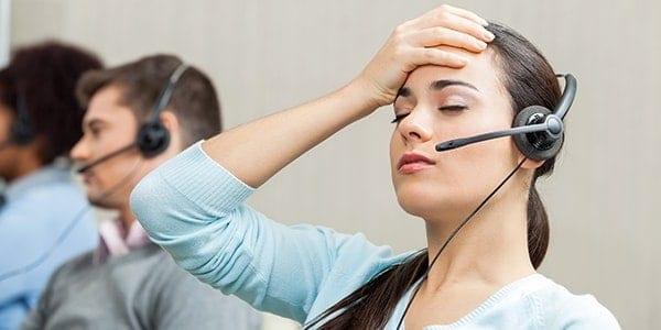 redenen voor stress op klantenservice