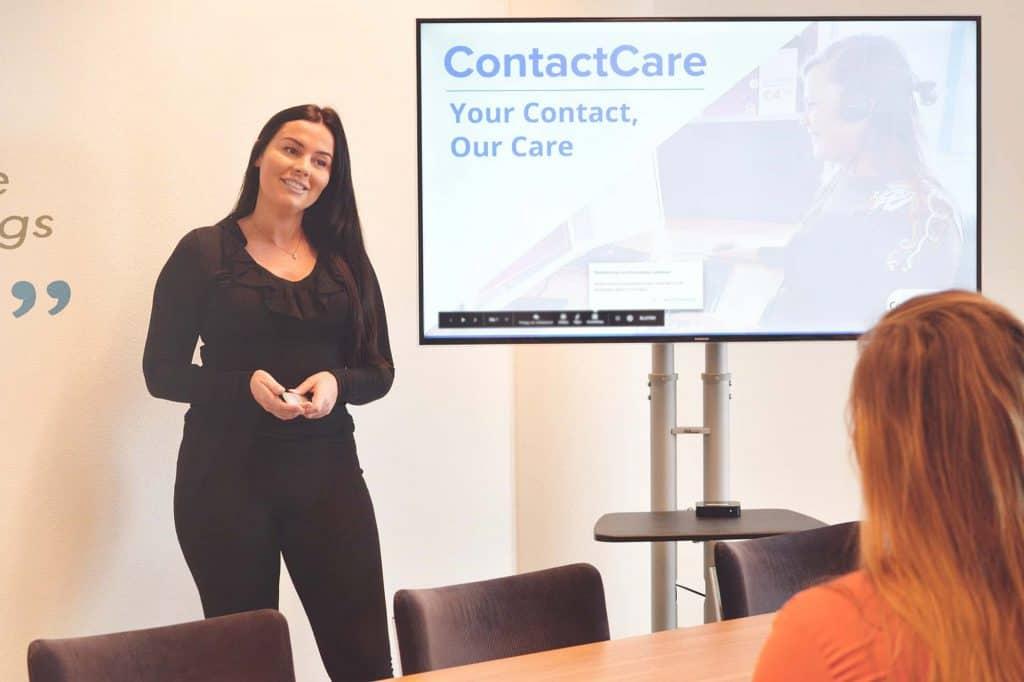 telefootraining ContactCare