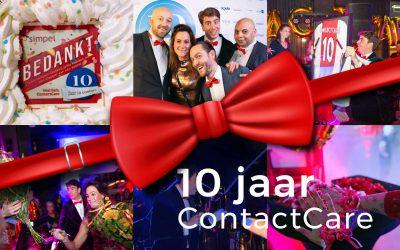 Jubileumfeest ContactCare 10 jaar