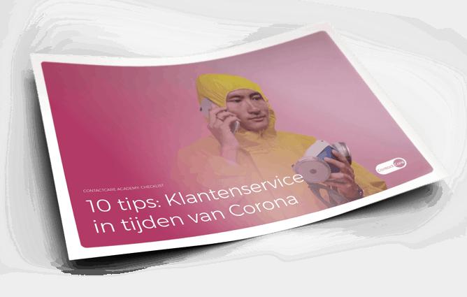 10 tips klantenservice corona